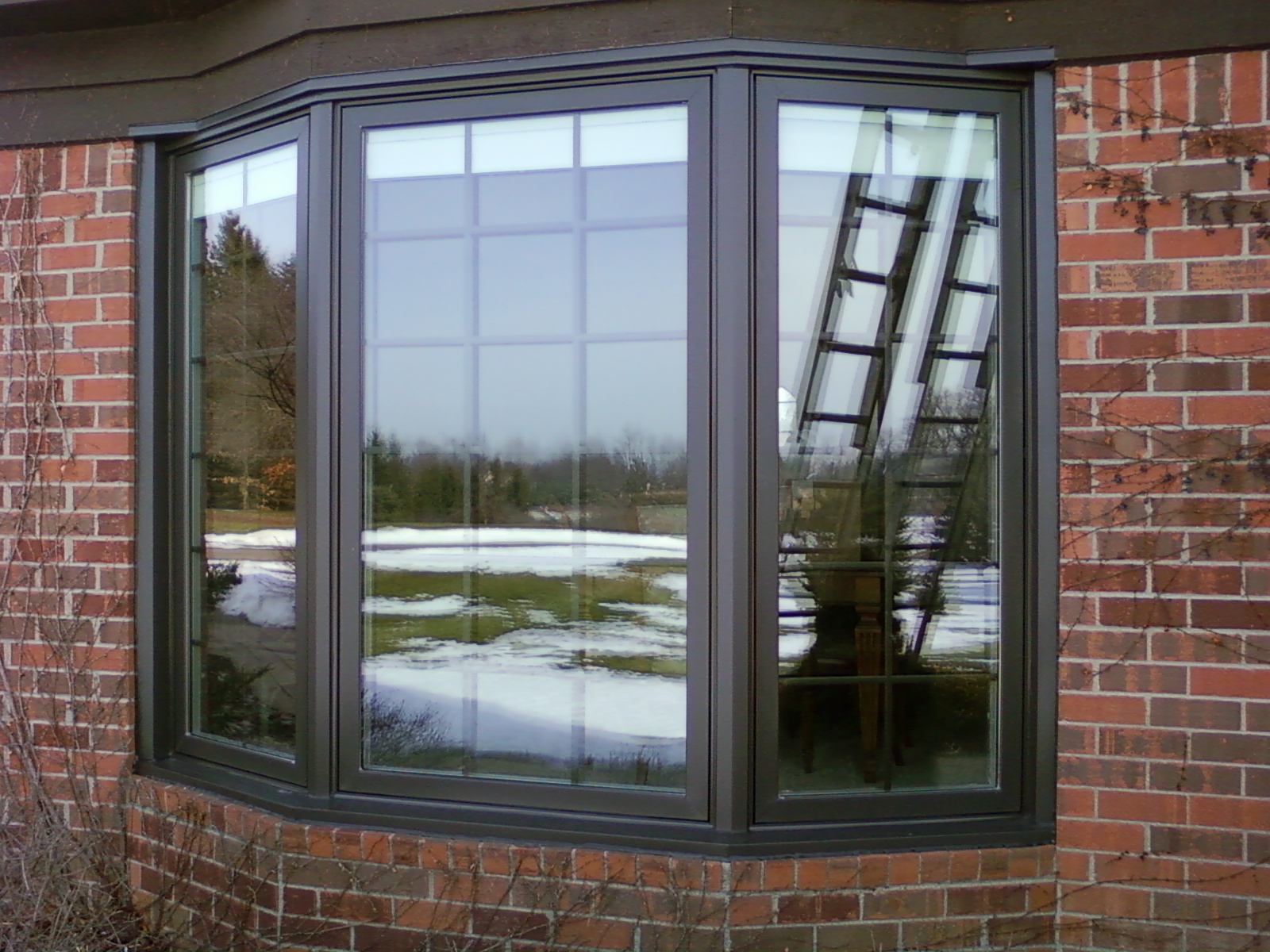 Replacement bow windows colorado window company for Wood windows colorado